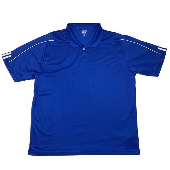 Adidas Climalite Short Sleeve Polo Shirt Men's 3XL